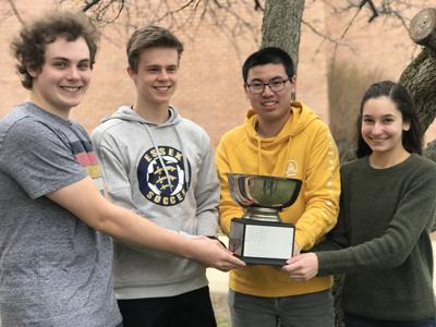 Essex High scholars' bowl team