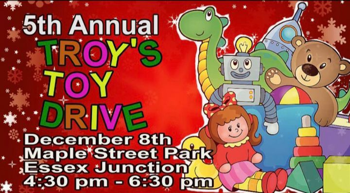 5th annual Troy's Toys set for Dec. 8