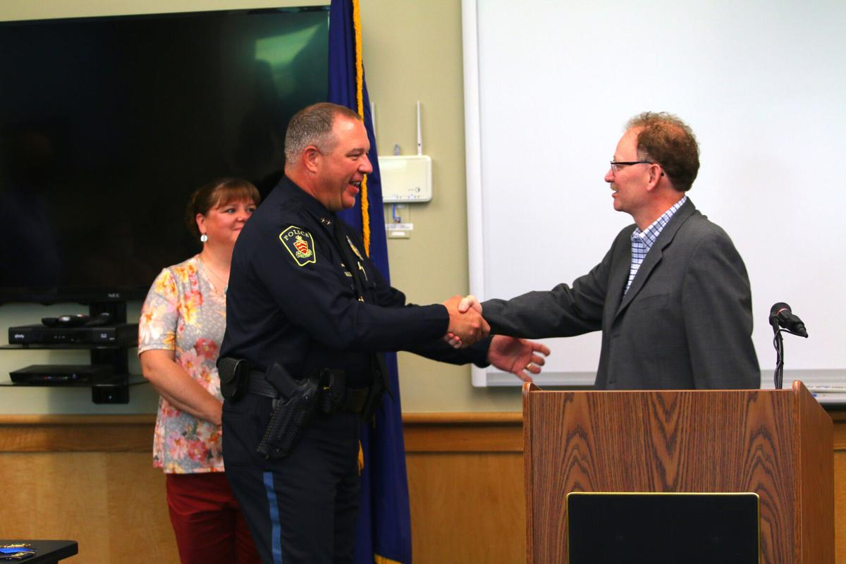 Hoague takes reins of Essex Police, talks next steps for department