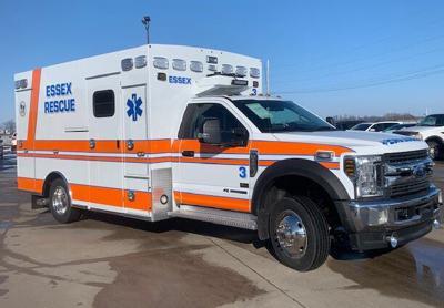 Essex Rescue ambulance