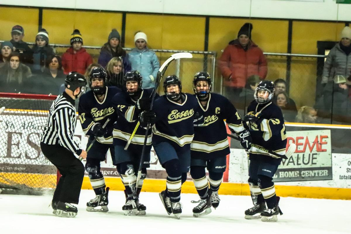 Late goal sends EHS girls' ice hockey to state championship