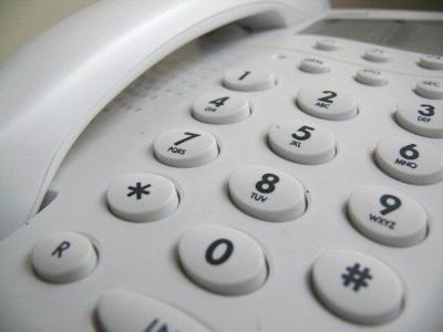 Landline phone from pixabay