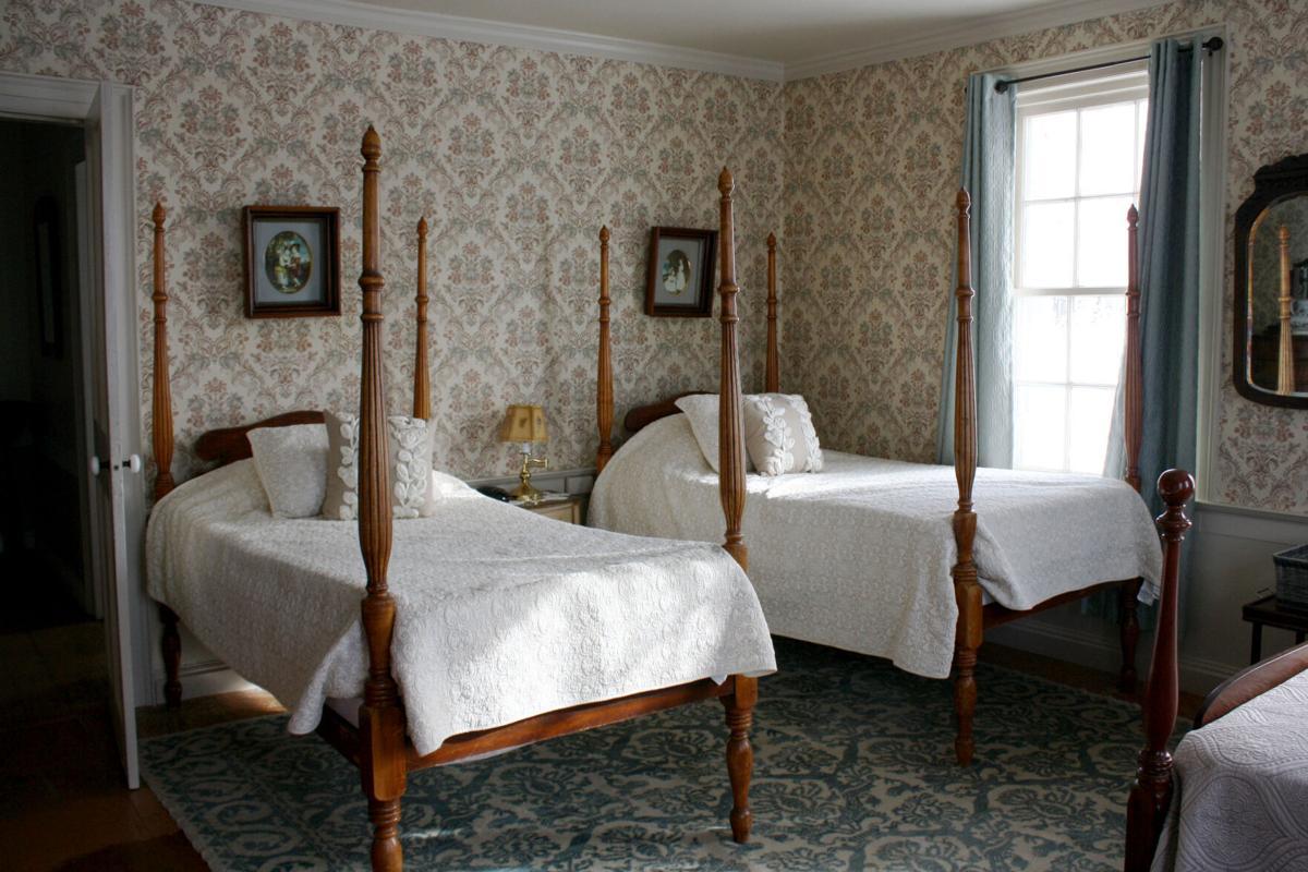 Soule House bedroom