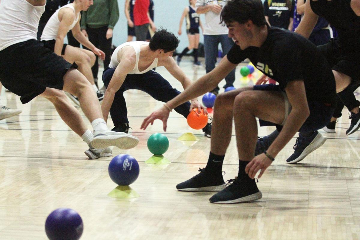 EHS Girls' Volleyball dodgeball tournament fundraiser1