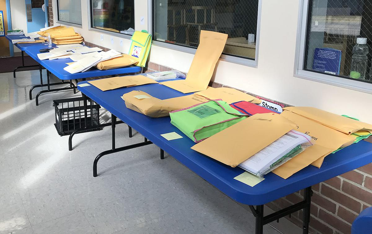 EWSD sends home technology to continue education