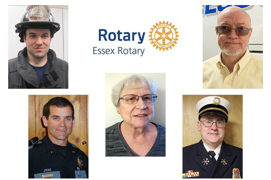 Essex Rotary selects 2020 'Service above Self' honorees
