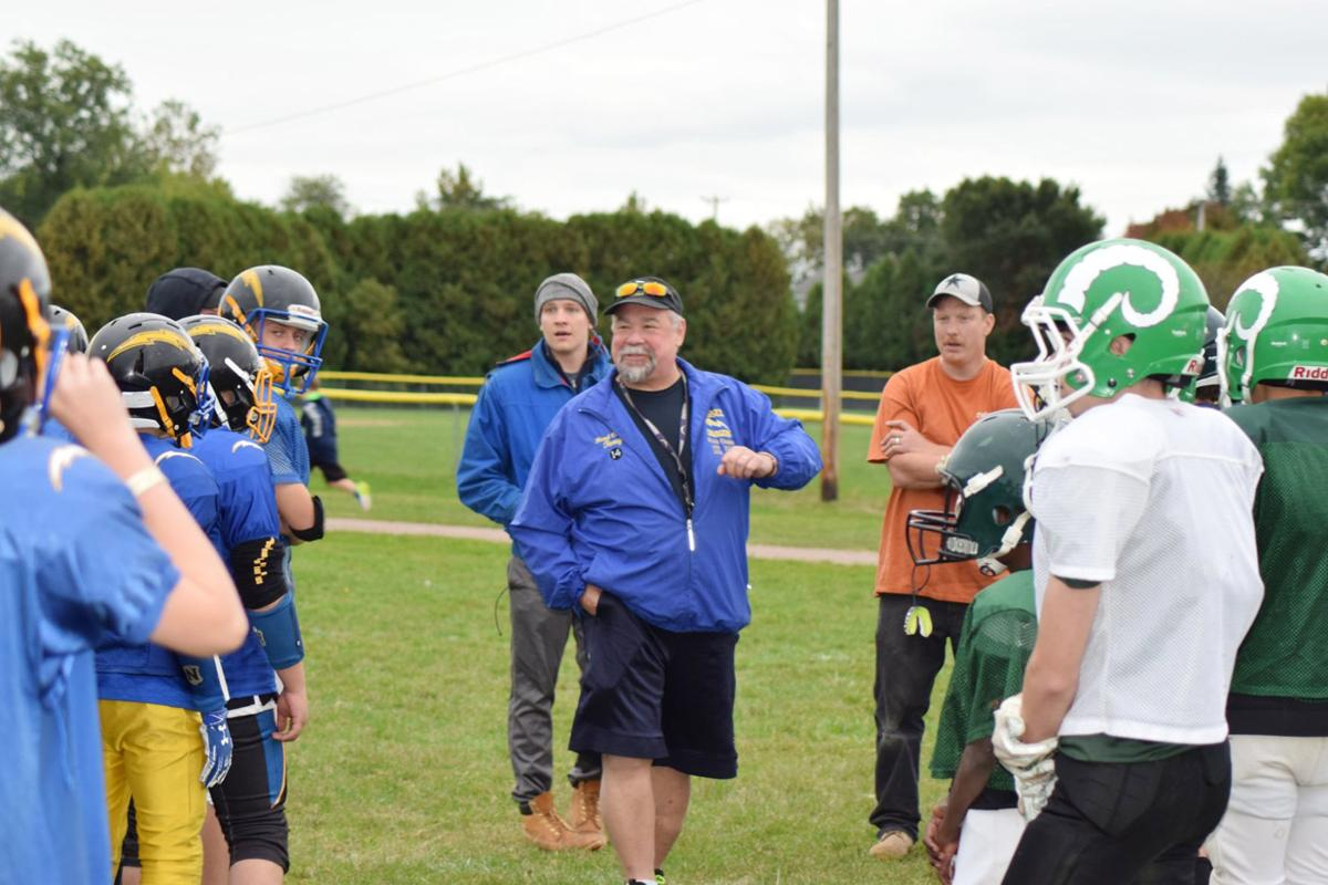 Essex Chargers Joint Practice