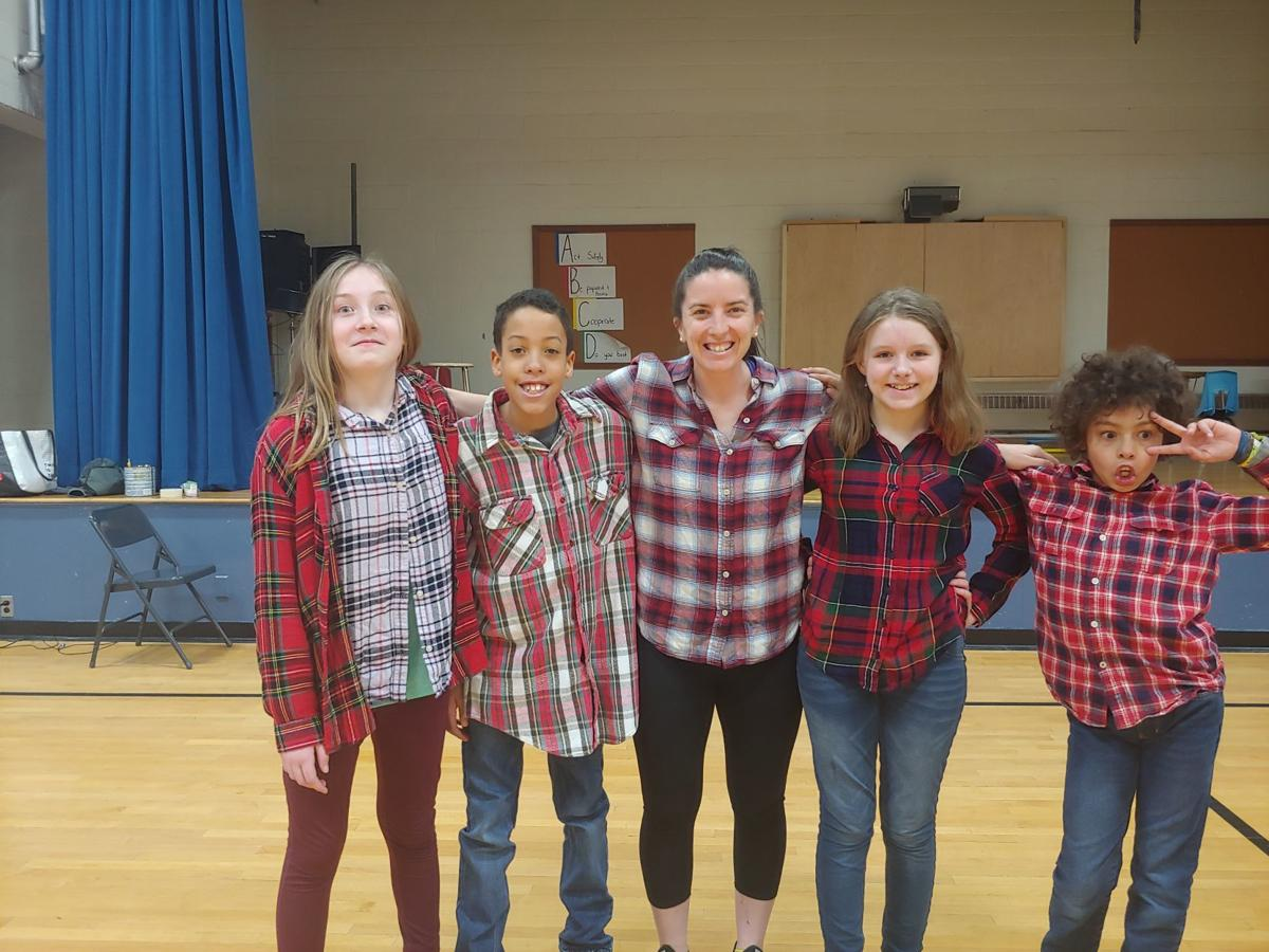 EWSD celebrates Flannel Friday