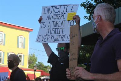 Juneteenth Rally Protesters
