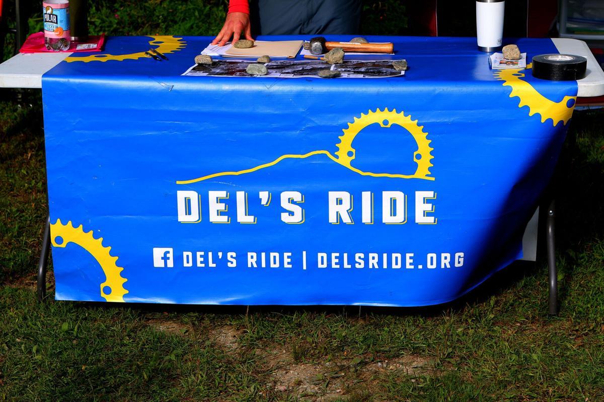 Del's Ride sign