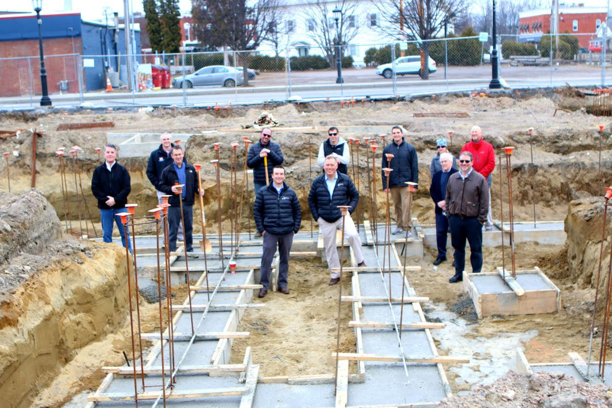 Village celebrates groundbreaking for multi-use downtown project
