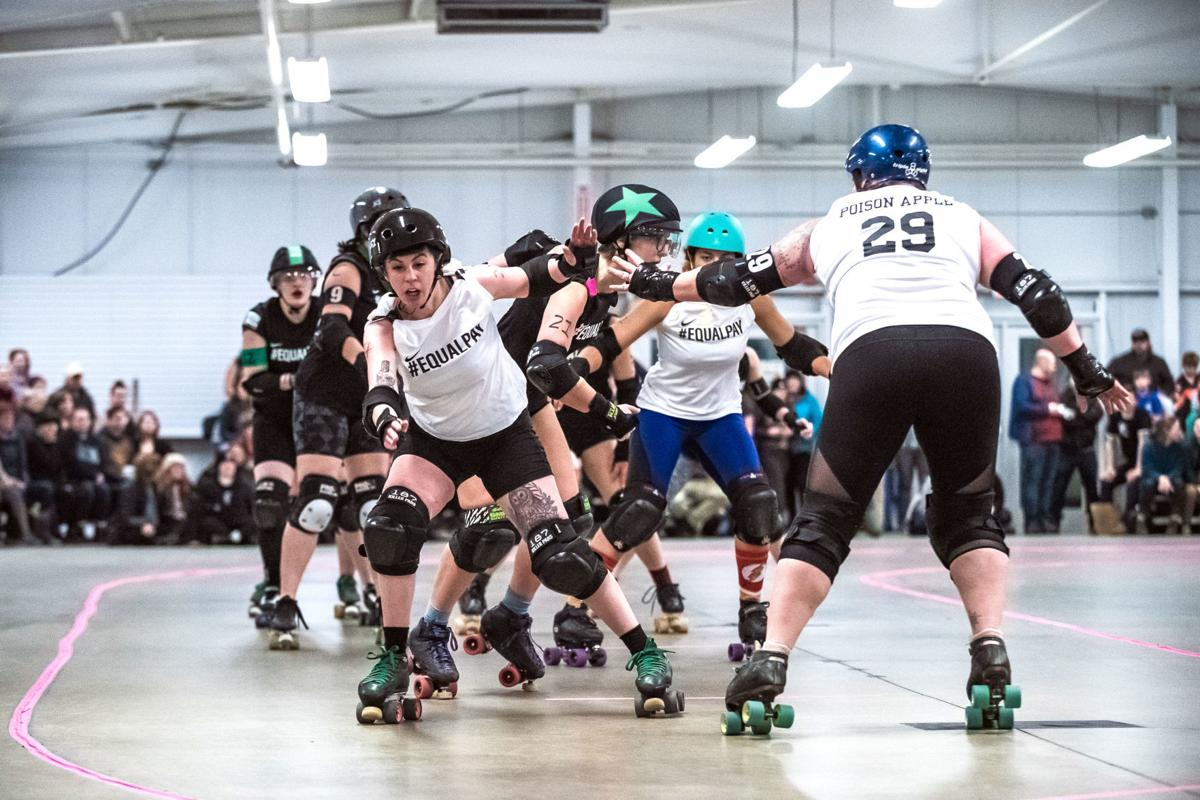 Equal pay advocacy comes to Essex through roller derby