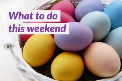 What to do this weekend, April 2-4