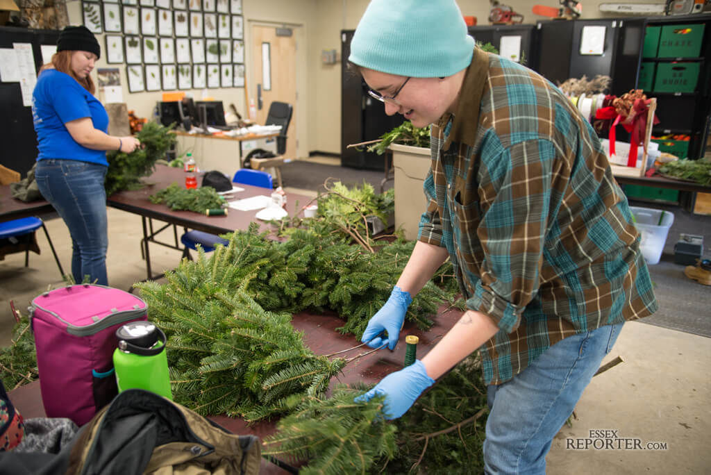 CTE forestry students prep holiday decor, gifts | News