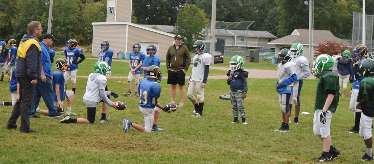 Essex Chargers Practice 2