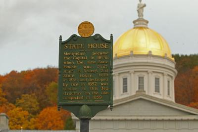 Vermont State House, Oct. 2020
