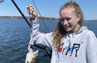 Essex angler suggests trolling for salmon at Lake Champlain surface