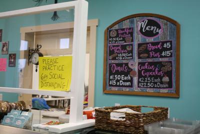 Madeleine's Bakery counter