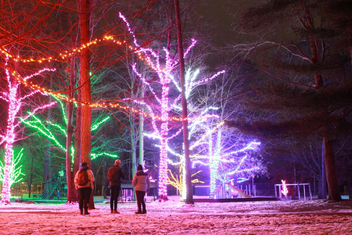Photo Gallery: 'Lights in the Park' returns to Maple Street