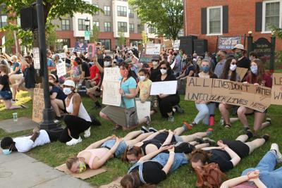 Essex Top Photos: BLM vigil