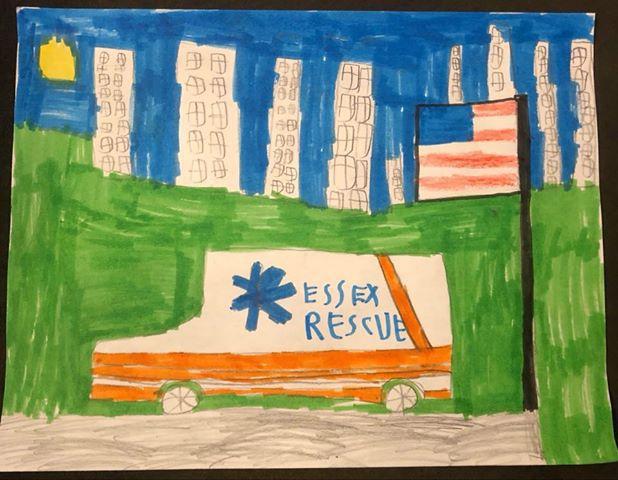Essex Police tasks kids with homebound art project