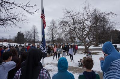 ADL students hold Black Lives Matter flag-raising ceremony