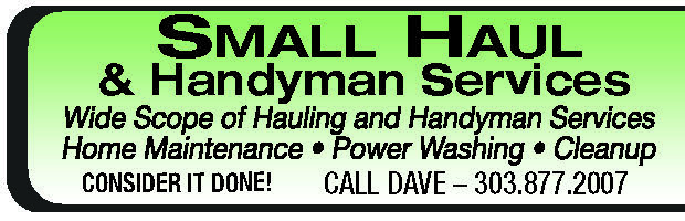 Small Haul & Handyman Services | Handyman Services