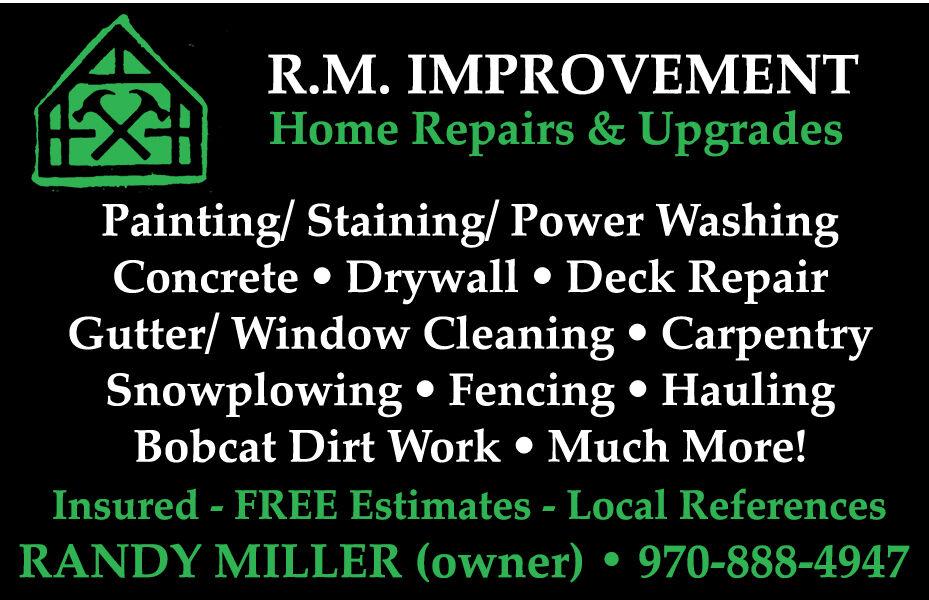 R.M. Improvement