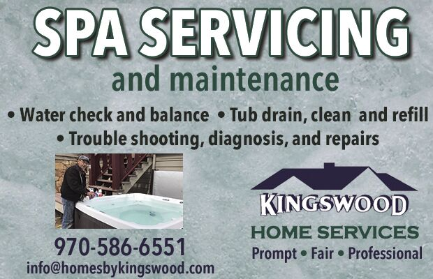 Kingswood Home Services Spa Servicing