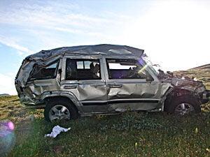 Rollover Accident On Trail Ridge Road | RMNP News | estesparknews com