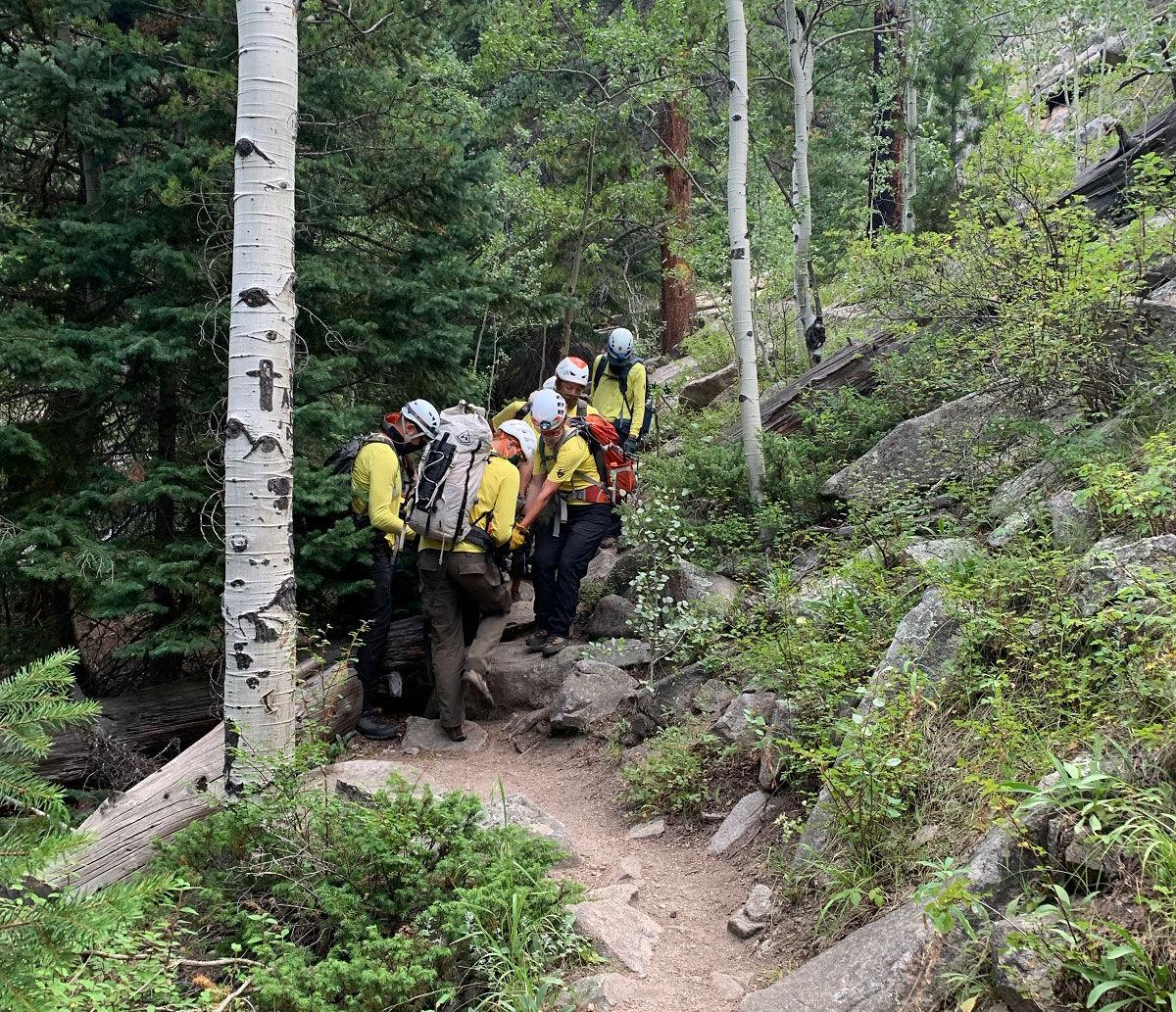 Injury From Fall At Bridal Veil Falls In Rocky Mountain National Park