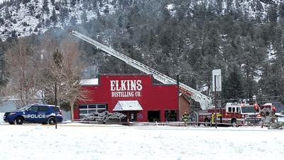 Elkins Distillery Fire