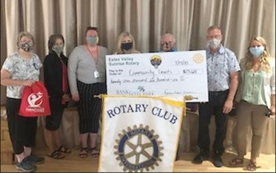 Estes Valley Sunrise Rotary Awards Community Grants