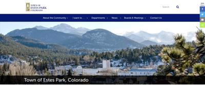 Town Of Estes Park Launches New Website At www.estes.org