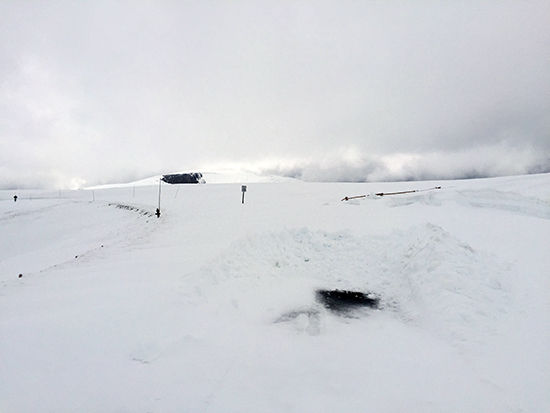 Trail Ridge Road Covered in Snow