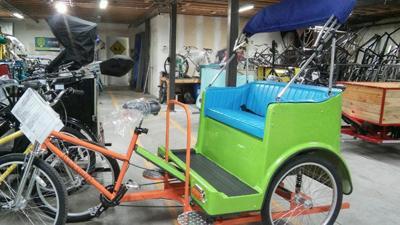 Hale A Pedicab