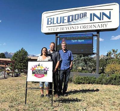 "Blue Door Inn recognized  As ""Estes Bright Spot"""