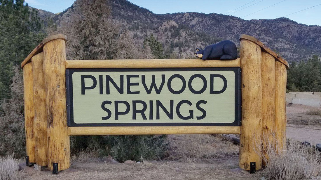Reward For Carved Bear Stolen From Pinewood Springs Sign