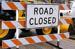 Construction Road Closure