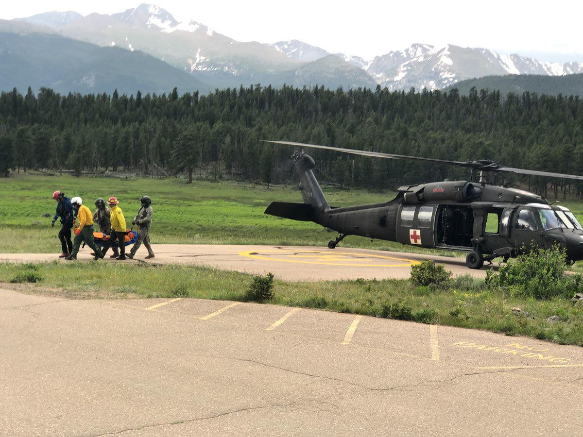 RMNP Helicopter