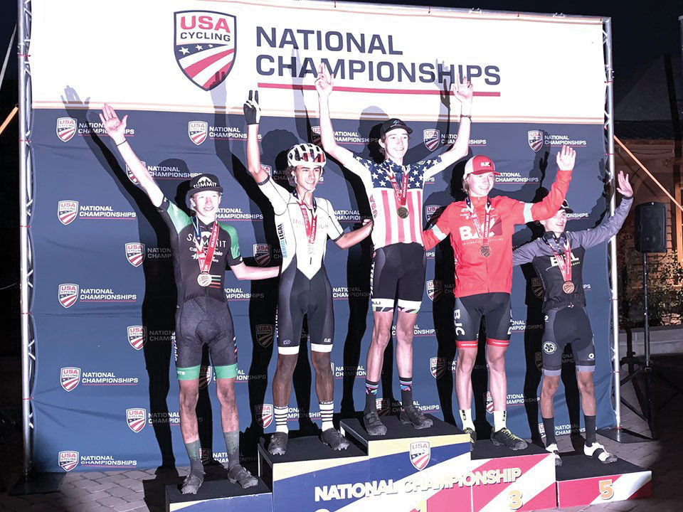 Peyton Wilkerson Places Third  At USACycling Nationals