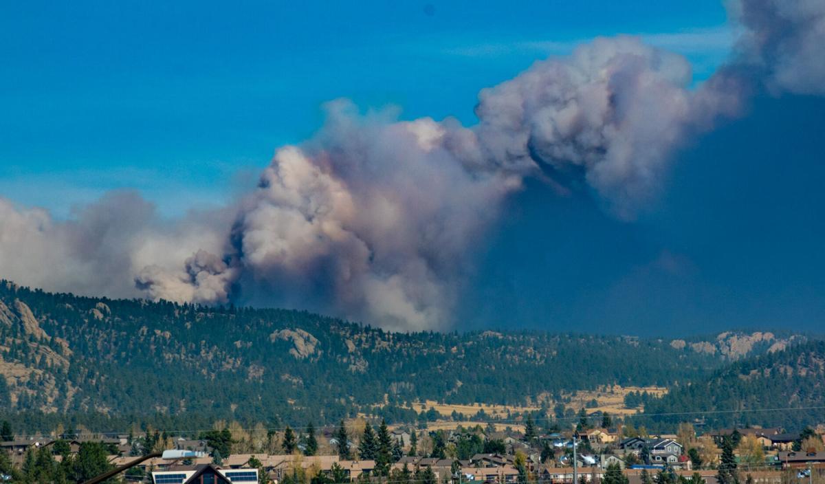 Cameron Peak Fire Photo, October 16, 2020