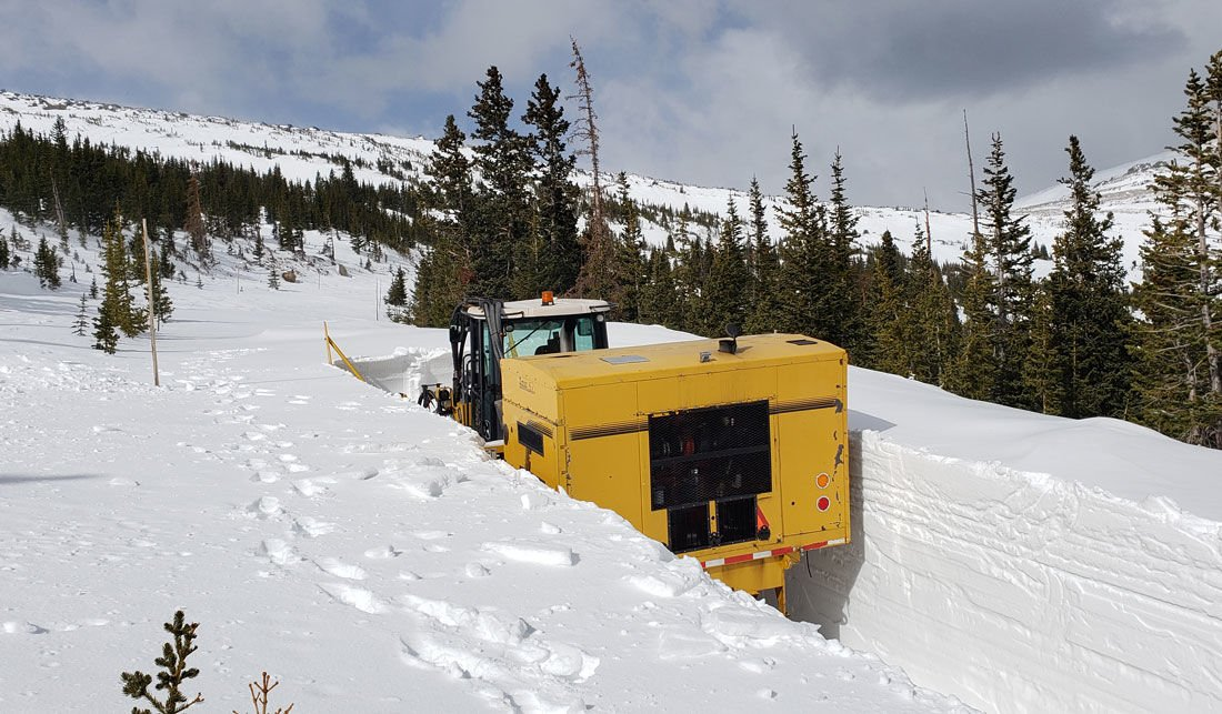 RMNP Makes Progress On Clearing Trail Ridge Road