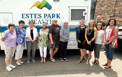 Quota Helps Provide Ambulance #22 For Estes Park Health