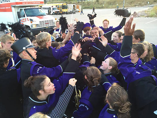 Estes Park High School Marching Band 2015 Class A State Champs