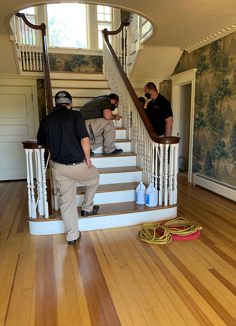 Stanley Home Staircase Renovation