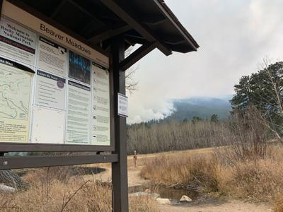 Upper Beaver Meadows Fire