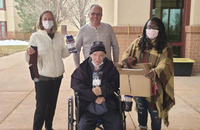 EPMS Donates Socks To Veterans, Gives Thanks To Footwear Fans