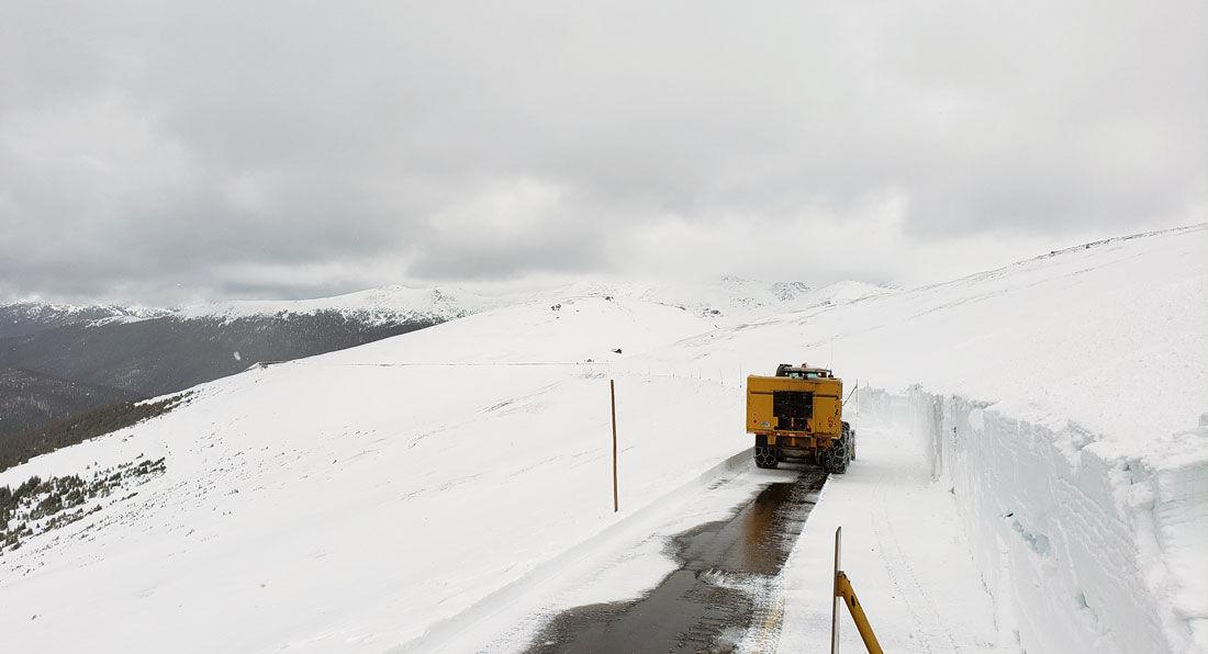 Trail Ridge Road Plowing