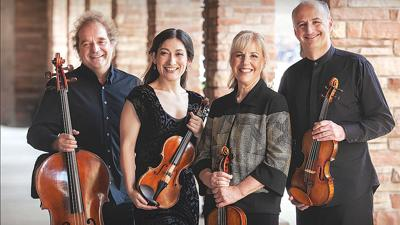 Famed Takács Quartet